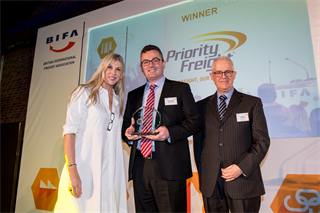 Specialist Services Award Winner: Priority Freight