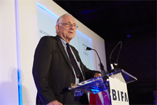 BIFA President, Sir Peter Bottomley MP opens the 30th awards ceremony