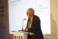 BIFA President, Sir Peter Bottomley MP opens the 31st awards ceremony