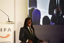Event host, Ade Adepitan addresses guests