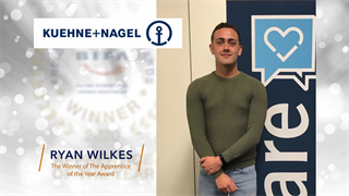 Apprentice of the Year Winner: Ryan Wilkes