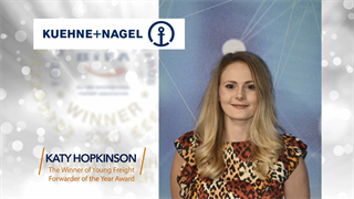 Young Freight Forwarder Award Winner: Katy Hopkinson